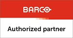 Barco Authorized Partner Small